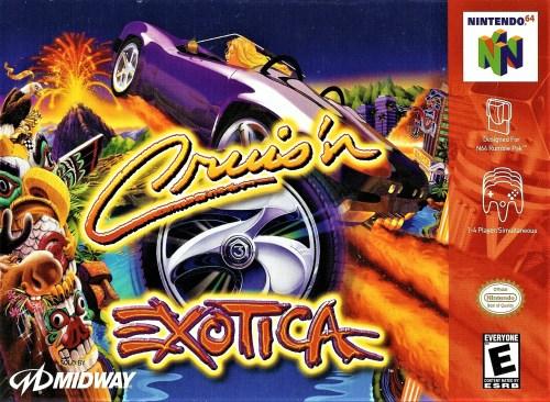 Cruis'n Exotica for Nintendo 64