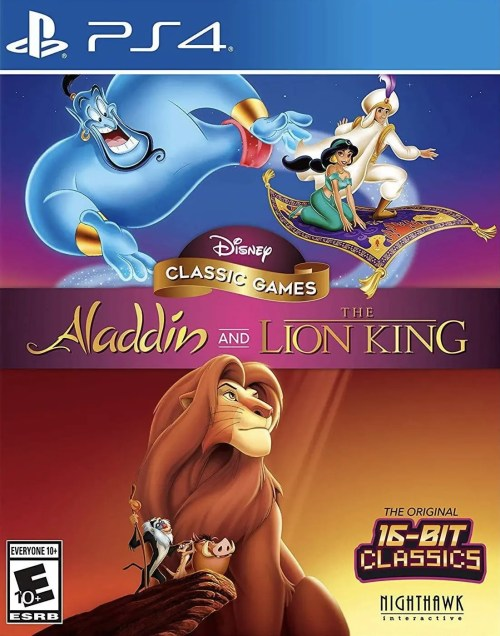 Disney Classic Games: Aladdin and the Lion King for PS4