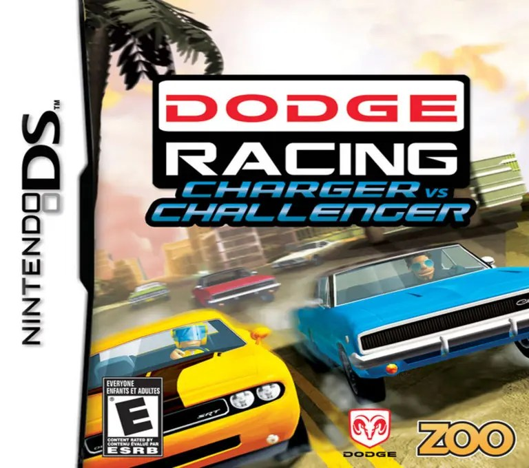 Dodge Racing: Charger vs Challenger for Nintendo DS