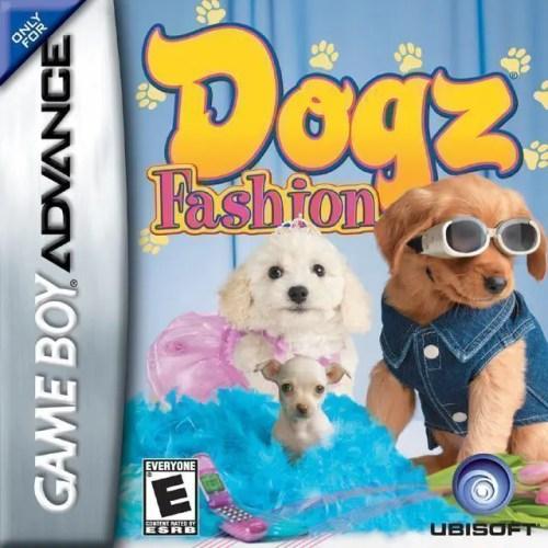 Dogz Fashion for Nintendo Game Boy Advance
