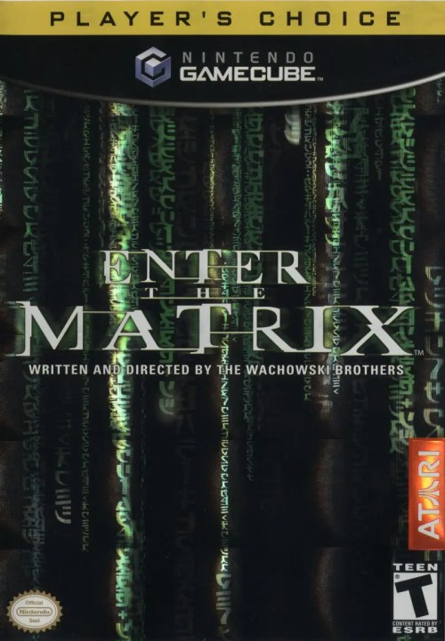Enter the Matrix for Nintendo GameCube (Player's Choice)