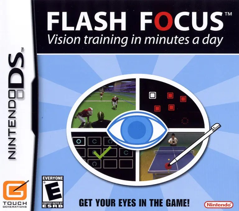 Flash Focus: Vision Training in Minutes a Day for Nintendo DS