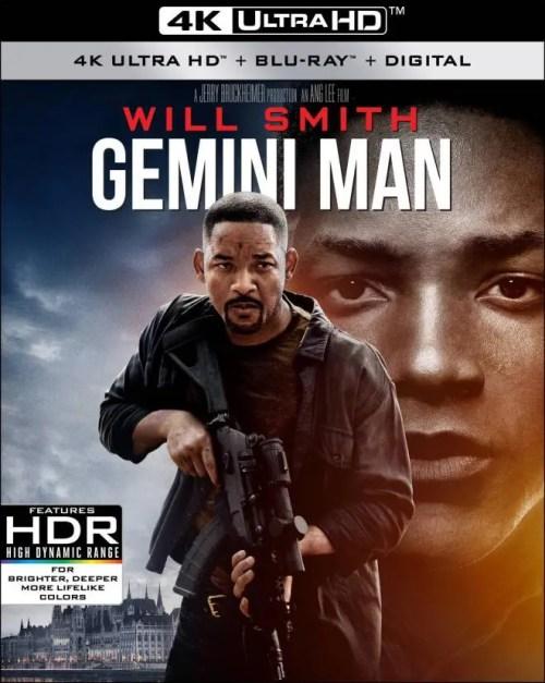 Gemini Man 4K Ultra HD + Blu-ray + Digital Box Set (Bilingual)