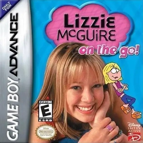 Lizzie McGuire: On the Go! for Nintendo Game Boy Advance