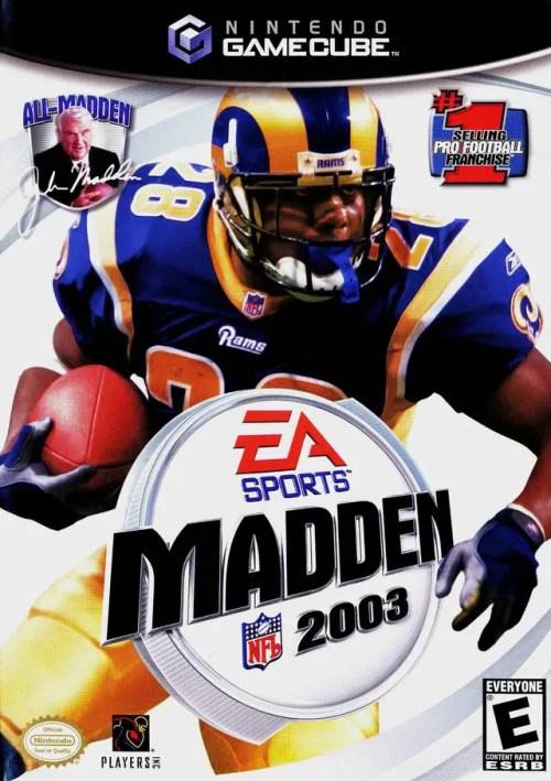 Madden NFL 2003 for Nintendo GameCube