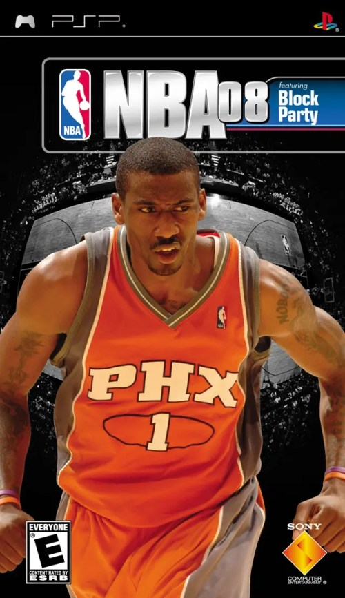 NBA 08 for PSP