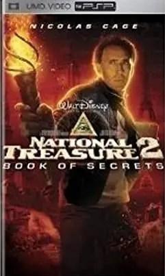 National Treasure 2: Book of Secrets for PSP UMD Video