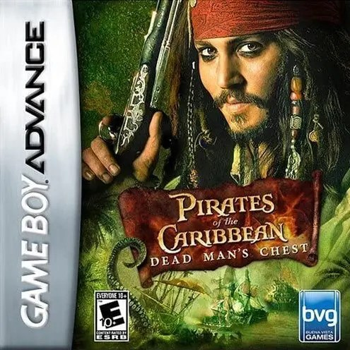 Pirates of the Caribbean: Dead Man's Chest for Nintendo Game Boy Advance