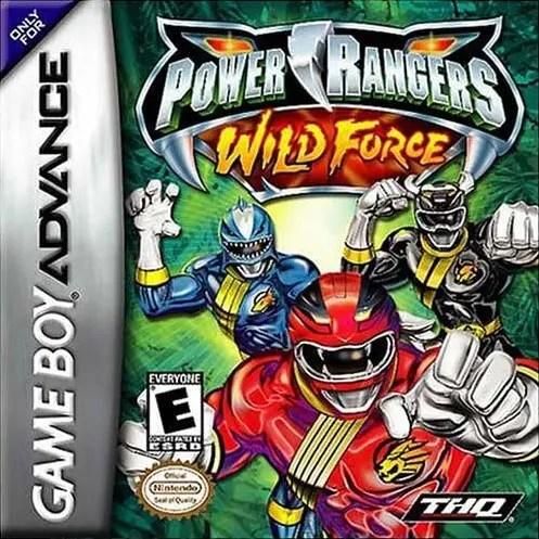Power Rangers Wild Force for Nintendo Game Boy Advance