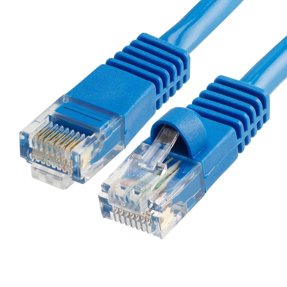 RJ45 Cat 5e Ethernet Network Cable (Blue)