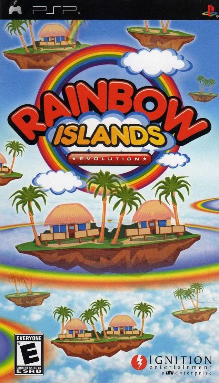 Rainbow Islands Evolution for PSP