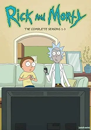 Rick and Morty: The Complete Seasons 1-3 DVD Box Set