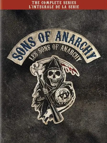 Sons of Anarchy: The Complete Series DVD Box Set (Bilingual)