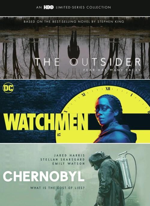 The Outsider, Watchmen & Chernobyl DVD Box Set