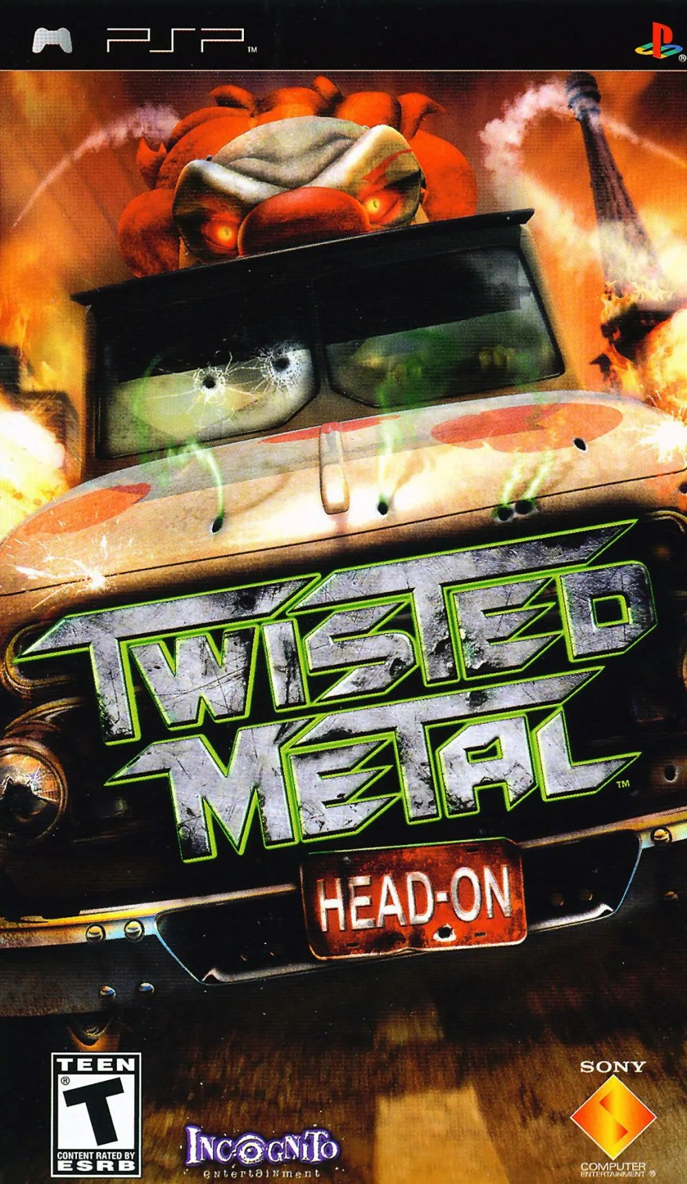 Twisted Metal: Head-On for PSP