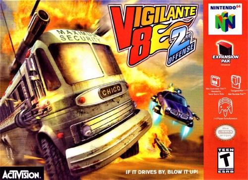 Vigilante 8: 2nd Offense for Nintendo 64