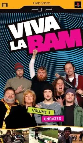 Viva La Bam Volume 3 (Unrated) for PSP UMD Video