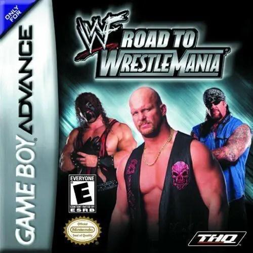 WWF Road to Wrestlemania for Nintendo Game Boy Advance
