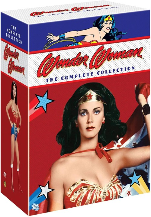 Wonder Woman: The Complete Collection DVD Box Set