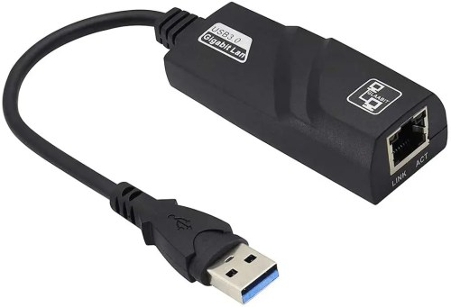 USB 3.0 to RJ45 LAN Gigabits Ethernet Adapter for 10/100/1000 Mbps Networks