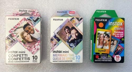 Fujifilm INSTAX Mini Film (Confetti, Mermaid Tail or Rainbow)