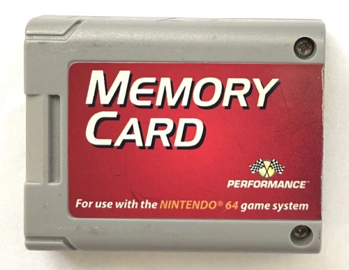 Memory Card for Nintendo 64