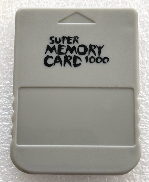 Super Memory Card 1000 for Playstation