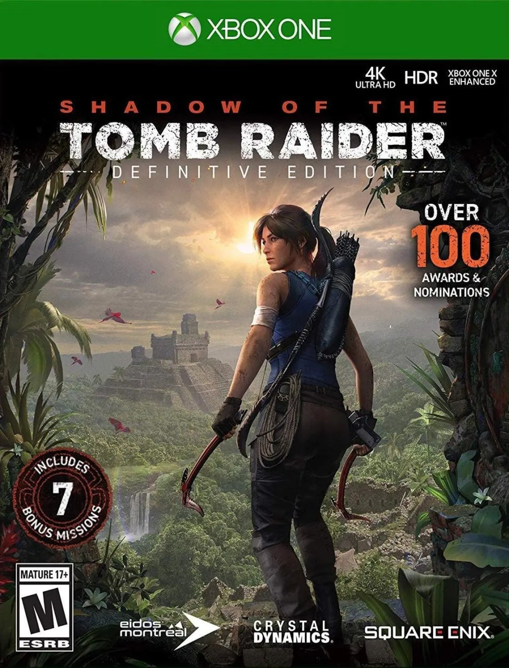 Shadow of the Tomb Raider (Definitive Edition) for Xbox One