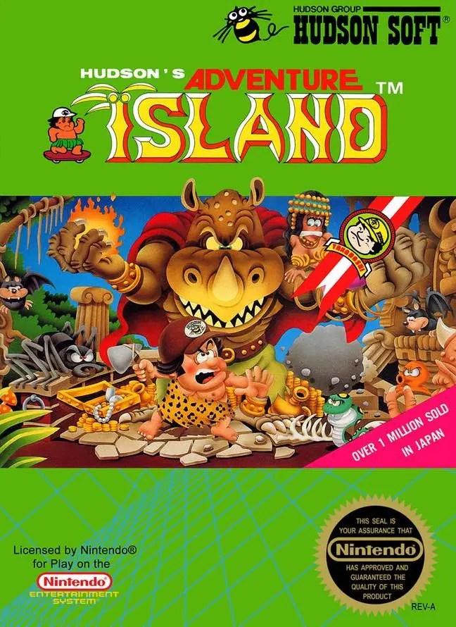 Adventure Island for Nintendo Entertainment System (NES)