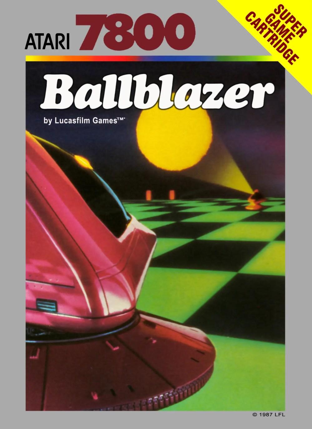 Ballblazer for Atari 7800