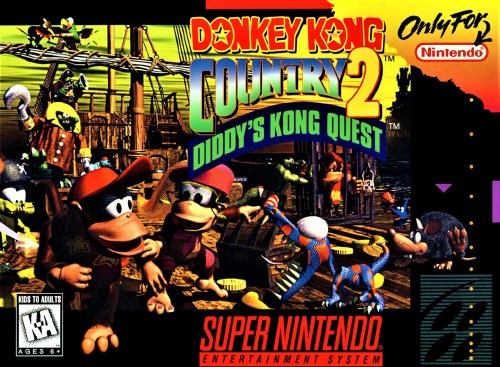 Donkey Kong Country 2: Diddy's Kong Quest for Super Nintendo Entertainment System (SNES)