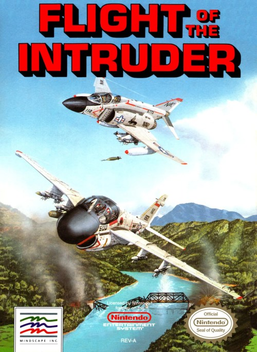 Flight of the Intruder for Nintendo Entertainment System (NES)