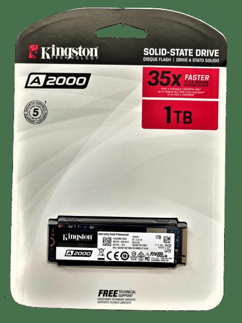 Kingston A2000 1 TB NVMe PCIe SSD (SA2000M8/1000G)