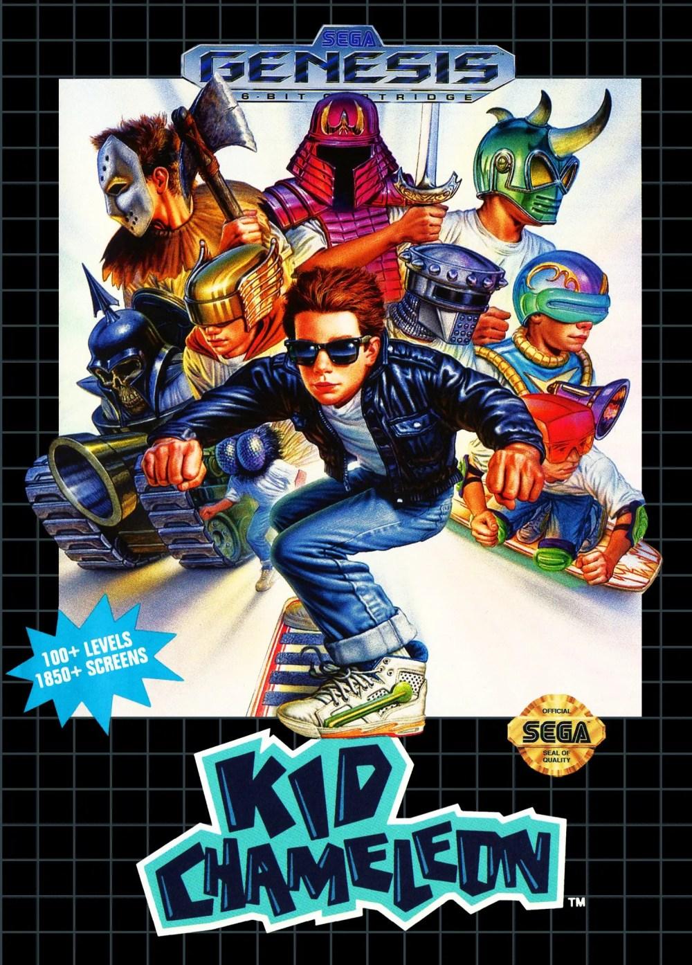 Kid Chameleon for Sega Genesis