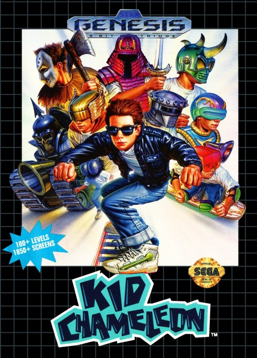 Kid Chameleon for Sega Genesis