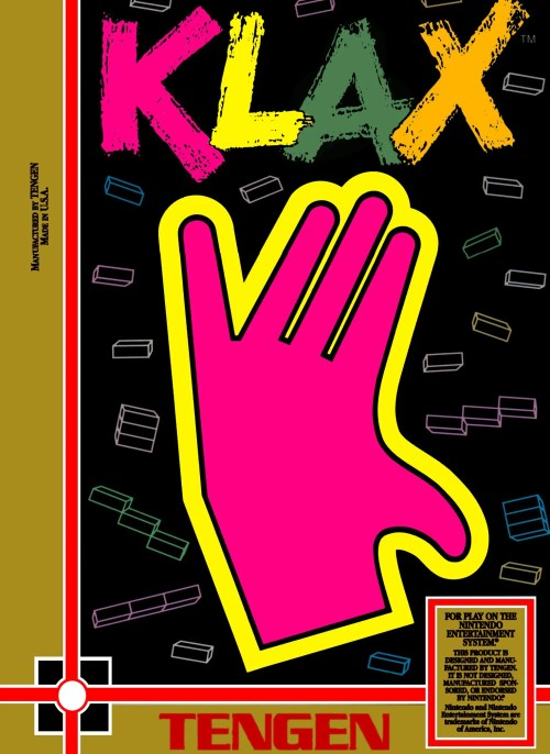 Klax for Nintendo Entertainment System (NES)