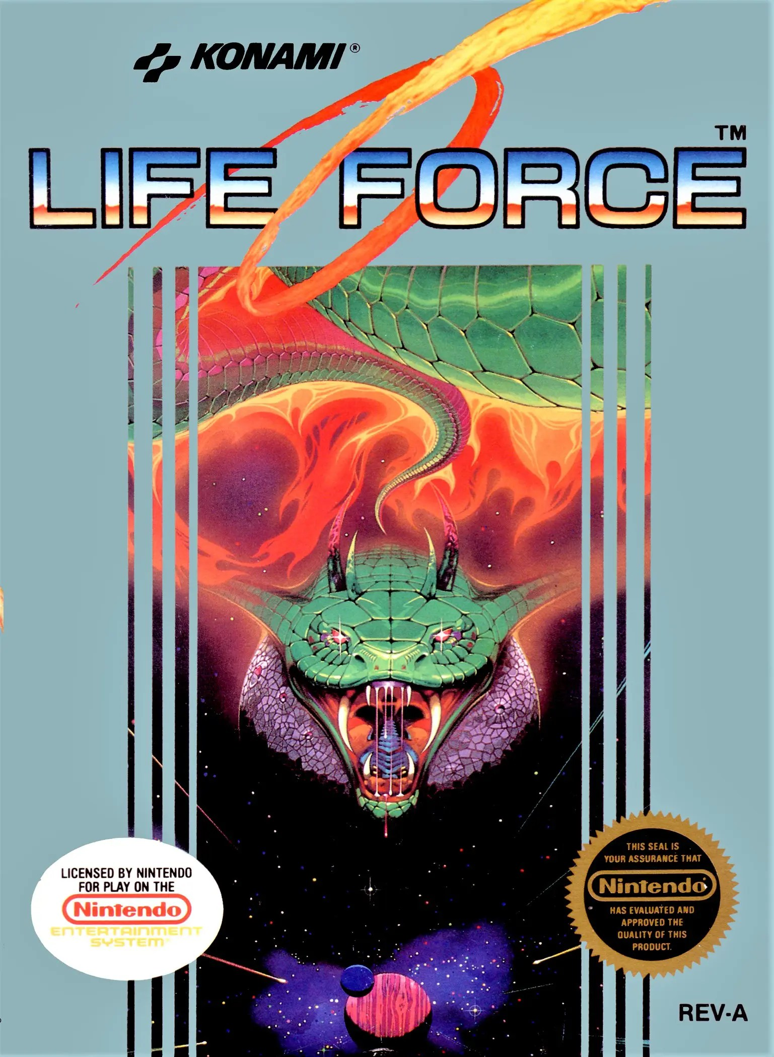 Life Force for Nintendo Entertainment System (NES)