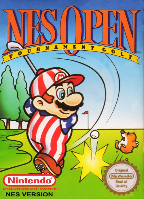 NES Open Tournament Golf for Nintendo Entertainment System (NES)