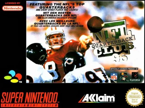 NFL Quarterback Club 96 for Super Nintendo Entertainment System (SNES)