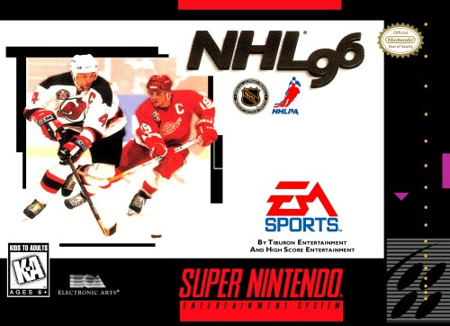NHL 96 for Super Nintendo Entertainment System (SNES)