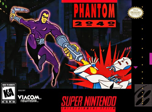 Phantom 2040 for Super Nintendo Entertainment System (SNES)