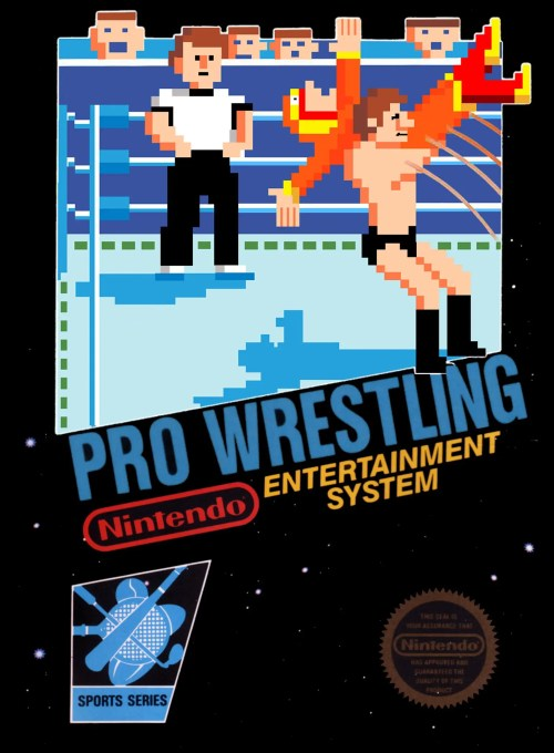 Pro Wrestling for Nintendo Entertainment System (NES)