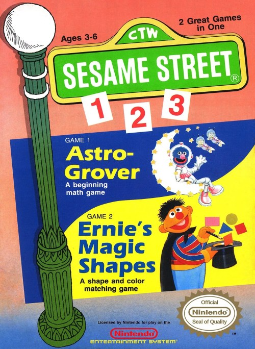 Sesame Street 1-2-3 for Nintendo Entertainment System (NES)