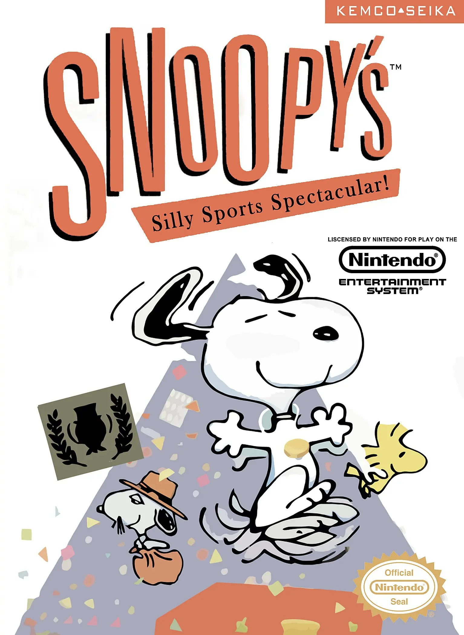 Snoopy's Silly Sports Spectacular for Nintendo Entertainment System (NES)