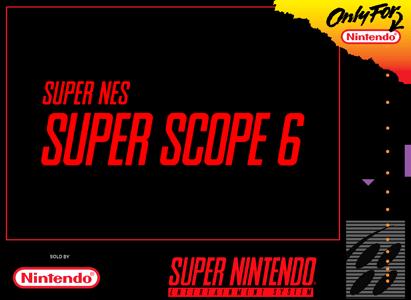 Super NES Super Scope 6 for Super Nintendo Entertainment System (SNES)
