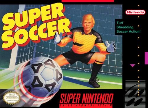 Super Soccer for Super Nintendo Entertainment System (SNES)