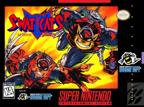SWAT Kats for Super Nintendo Entertainment System (SNES)