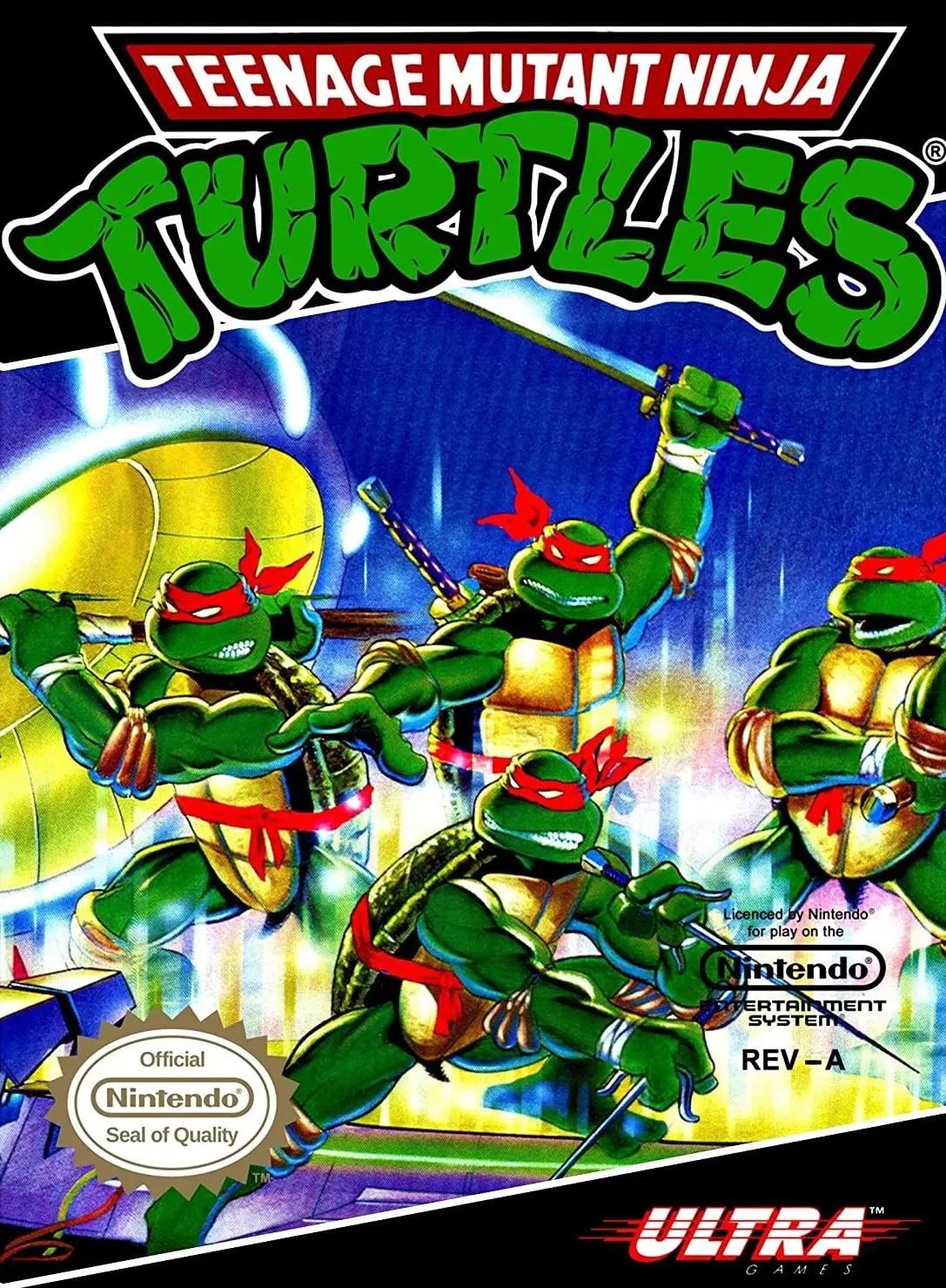 Teenage Mutant Ninja Turtles for Nintendo Entertainment System (NES)