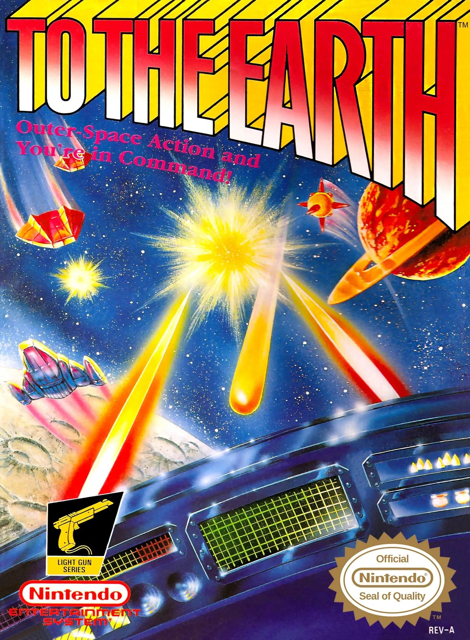 To the Earth for Nintendo Entertainment System (NES)