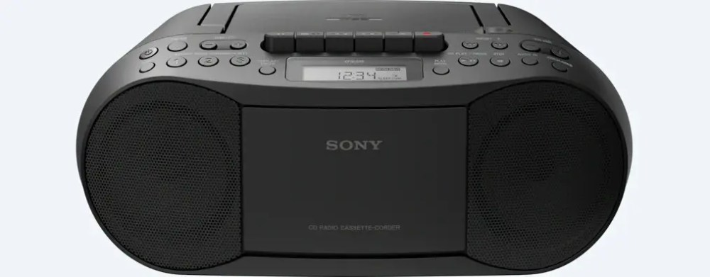Sony CD/Cassette Boombox with Radio (CFD-S70)